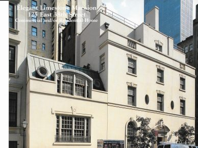 Mixed use building 125 East 38th Street - SOLD!